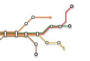 lignes métro